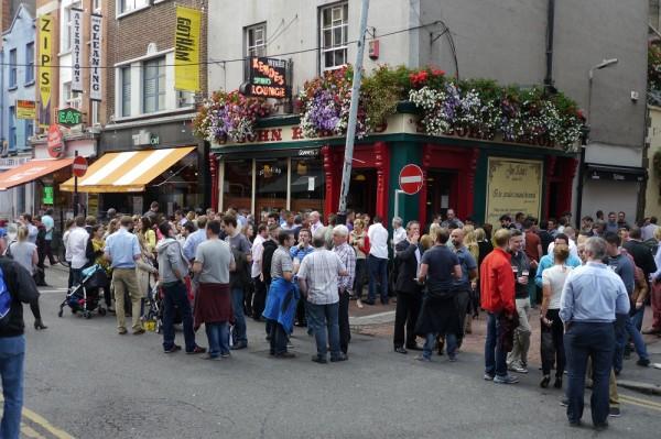 Pub nach Büroschluss