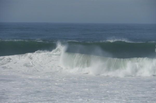 Atlantikdünung bei Windstille