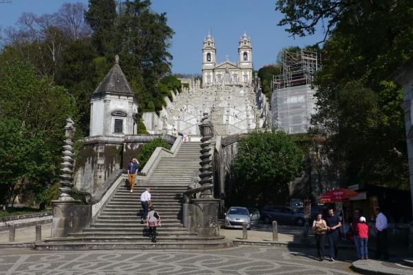 Wallfahrtskirche bei Braga
