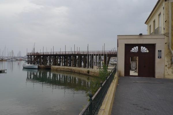 historische Salzverladestation in Torrevieja