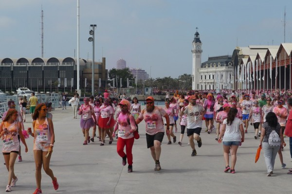 color run in Valencia