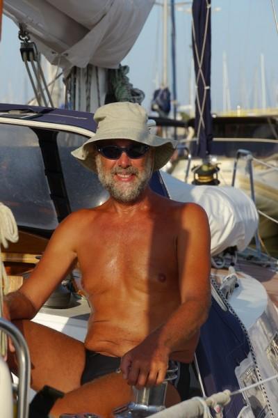 der letzte Tag auf meinem Schiff in Catania