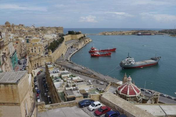 Hafeneinfahrt Valetta