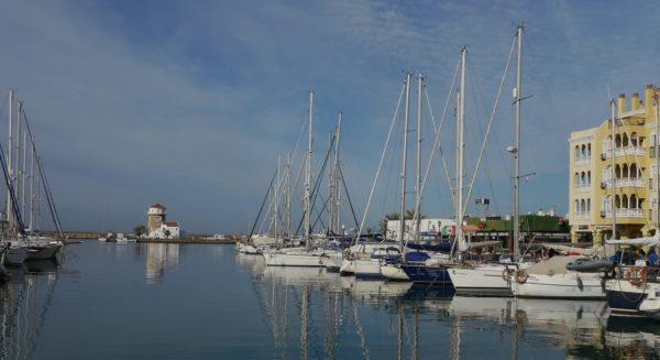 Im Hafen von Almerimar
